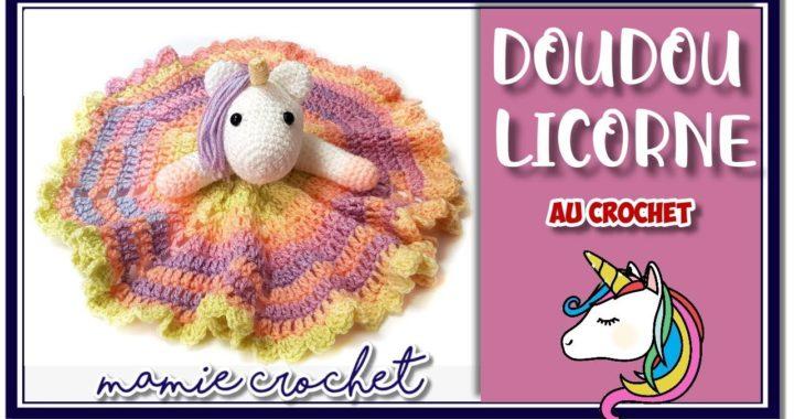 Comment Faire Un Doudou Licorne Très Facile Au Crochet Pas
