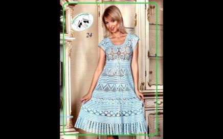 Vestidos Crocheteu Part 14