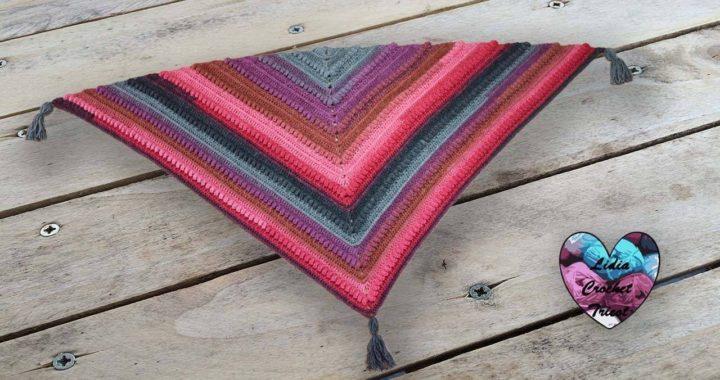 Châle Victoria By Lidia Crochet Tricot Crochet Crocheteu