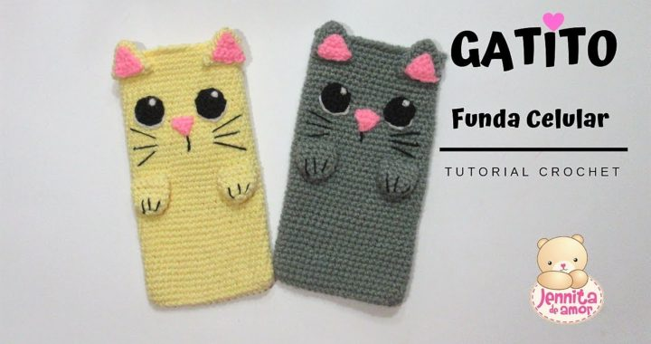Gato kawaii amigurumi tutorial - YouTube | Ganchillo amigurumi ... | 380x720