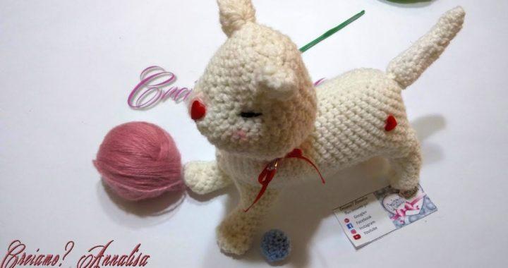 Tutorial GATTINI amigurumi all'uncinetto - crochet little cats ...   380x720