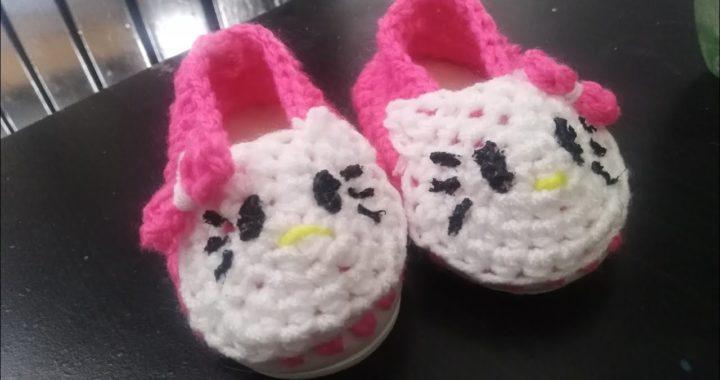 Tutorial: hello kitty bailarina tejida a crochet (amigurumi ...   380x720