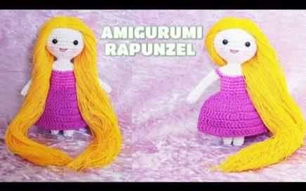 Princesa Disney Rapunzel Crochet/ Amigurumi Rapunzel big head ... | 272x436