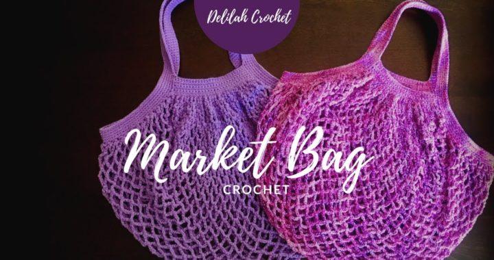 Market Bag Ou Sac Filet Au Crochet Tuto Facile Pour