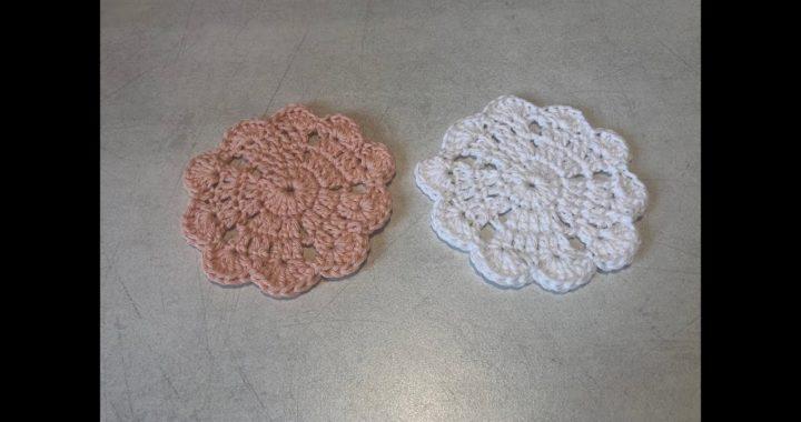 Tuto Sous Verre Coeur Au Crochet Spécial Gaucher Crocheteu
