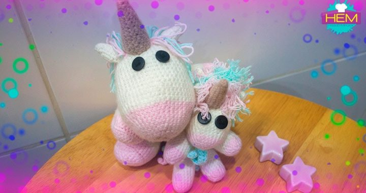 Resultado de imagen para unicornio tejido a crochet paso a paso | Einhorn  häkeln, Gehäkelte spielsachen, Bastelideen | 380x720