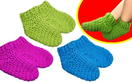 Calcetines Crochet Eu