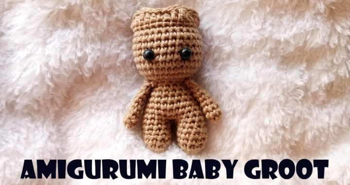 Amigurumi häkeln Baby Groot von Guardians of the Galaxy tanzen ... | 380x720