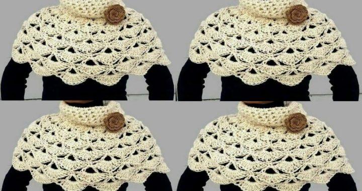 planes Presentador enjuague  LOS CHAL MAS LINDOS TEJIDOS EN CROCHET PARA DAMA | Crochet.eu